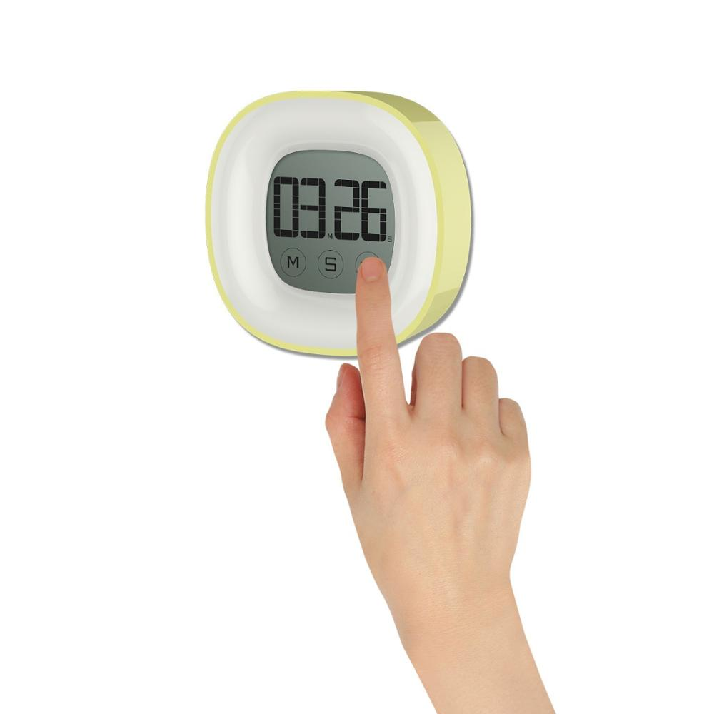 Digital Kitchen Timer ,Countdown / Count Up Alarm, Large LCD Display, Magnetic Back & Retractable Stand