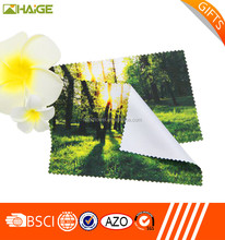 China supplier custom-make eye glass clean cloth wiping cloth , nonwoven cleaning cloth