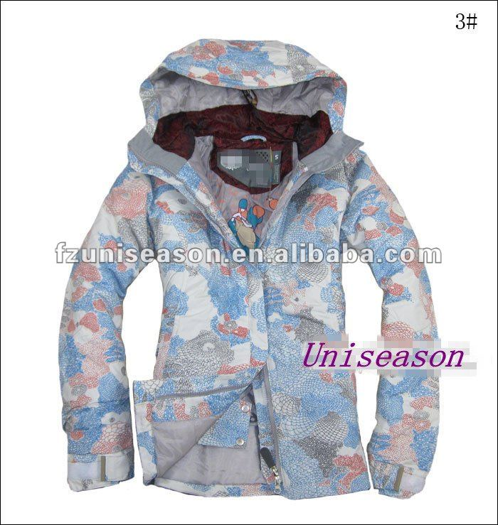 Custom Womens European Ski Jackets 2013