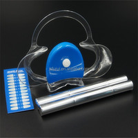 Private label Teeth whitening pen kits with led light
