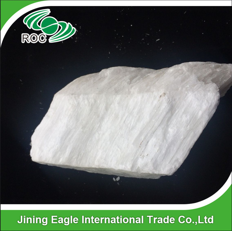 95% white Food additives natural gypsum stone for toufu