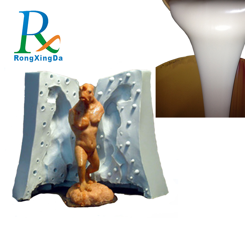 China manufacturer two component silicone rubber liquid polyurethane resin for crafts making