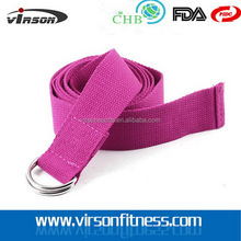 Ningbo Virson Fitness Equipment Non-toxic Cotton D Ring Yoga Strap