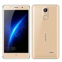 Original Leagoo M5 Smartphone 5.0 Inch Android 6.0 MT6580A Quad Core Mobile Phone 2GB RAM 16GB ROM 8.0MP Fingerprint Cell Phone