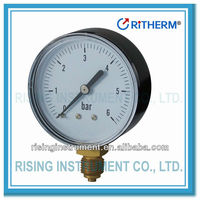 black steel case vacuum pump pressure gauge manometer
