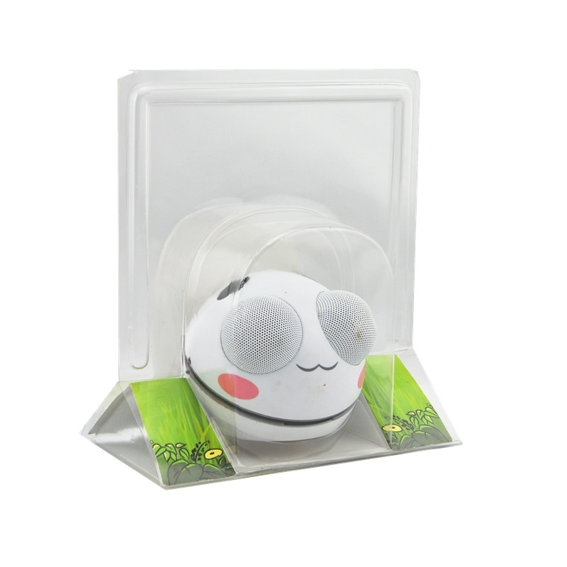 New Design Clear Clamshell Transparent Plastic Blister electronic products Packaging Container Tray