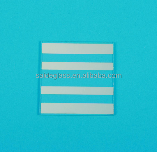 5-8ohm transparent ITO conductive optical glass/FTO electrical conductiving glass substrate