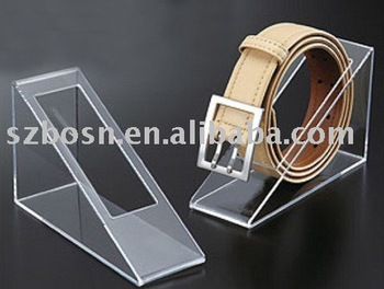 Acrylic Belt Display,Perspex Strap Display,Lucite Belt Holder