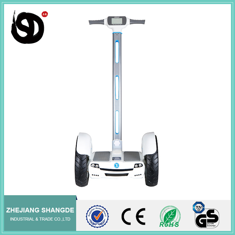 2016 new design Factory price Mini Two Wheel Electric Chariot Scooter with handle