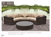 New design indoor sofa set rattan/wicker furnitures