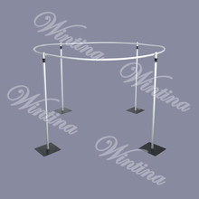 Wedding pipe and drape round backdrop,wholesale pipe drape wedding tent