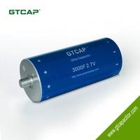 GTCAP graphene super capacitor 3000F 2.7v China
