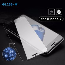 High Light Transparency 0.2mm Tempered for iPhone 7 Glass Screen Protector