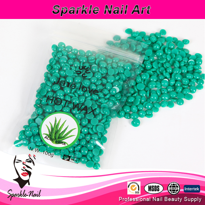 Pearl Hard Wax Beans/ Brazilian Granules Hot Film Wax Bead Hair Removal Wax100gram for bikini