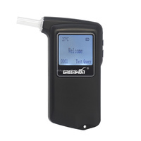 Professional accuracy fuel cell sensor car safety digital breathalyzer alcohol tester (AT-868F)