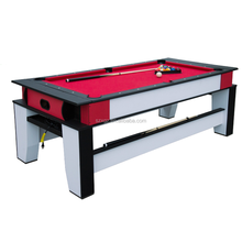 2 in 1 auto ball return system billiard pool table air hockey table combo with cheap price in china