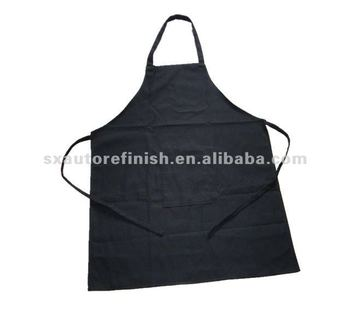 Heavy Cotton Apron With Front Pocket