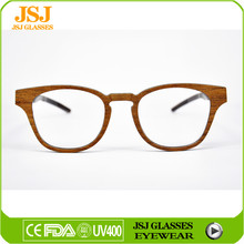 Custom Lenses Color and Fashion eyeglasses Style wooden glasses