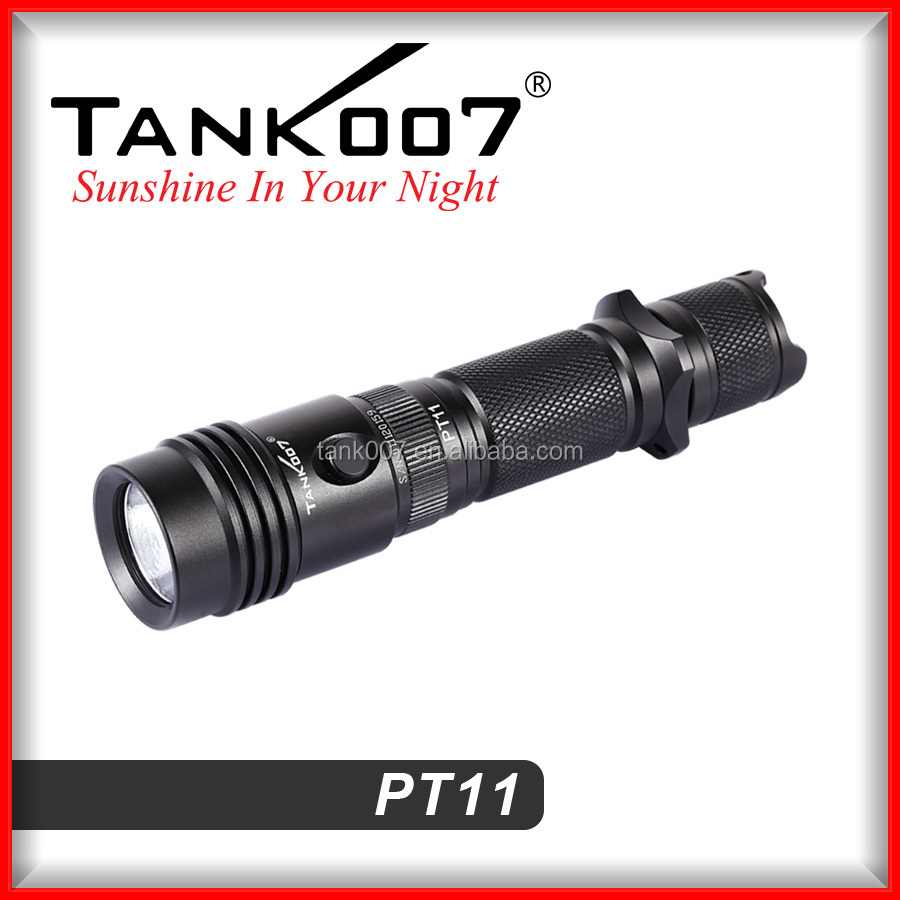 Hot selling point Police security LED High Lumen Tactical Flashlight PT11