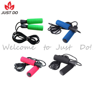 Foam Handle Fitness Skipping Jump Rope