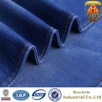 2016 new heavy knitted denim jeans fabric