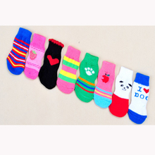 Hot sale fashion accessories indoor pet dog socks