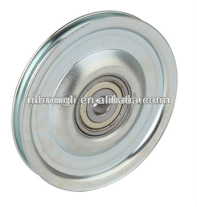 Dia 100mm Steel Cable Pulleys