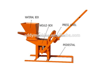 clay earth interlocking brick machine