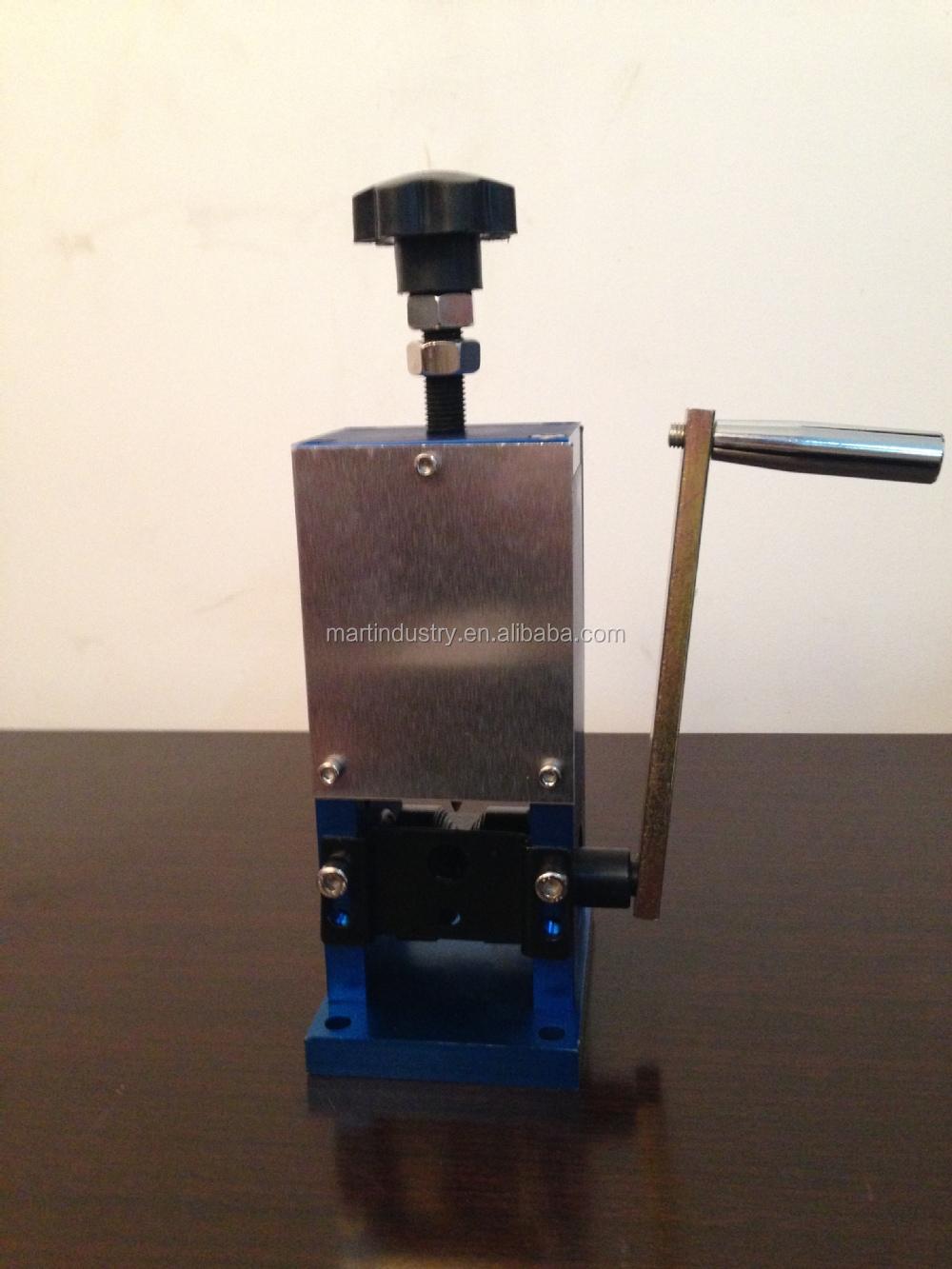 drill wire stripping machine
