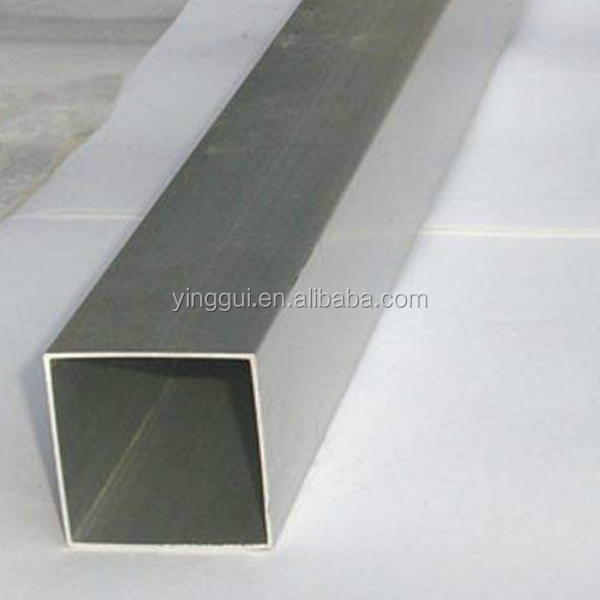 Extrusion seamless aluminum square tube aluminum alloy square tubes