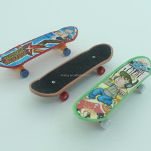promotion gift ,mini finger skateboard ,3D plastic toy for chirldren