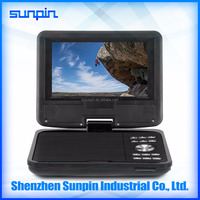 Multi region portable dvd player with competitive price for wholesale