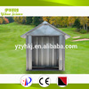 GB Standard Good quality metal dog house with colorful
