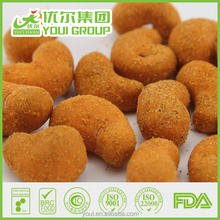 Spicy flavor Cashew nut snacks, Cashew nut price, Wholesale cashew nuts