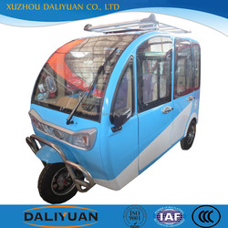 2016 DLY three wheel car three wheel covered motorcycle for passenger