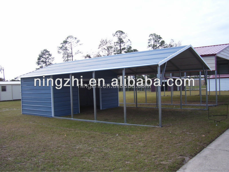 Attached Carport With Storage Room : Fantastic carports with storage room pixelmari