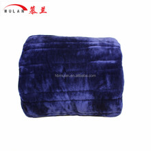 hot sale portable water proof electric polyester blanket