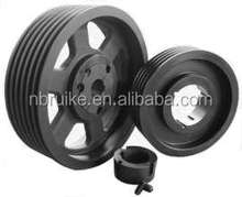 Quality OEM Casting V Belt Pulley SPA SPB SPC SPZ pulley and Taper Bush