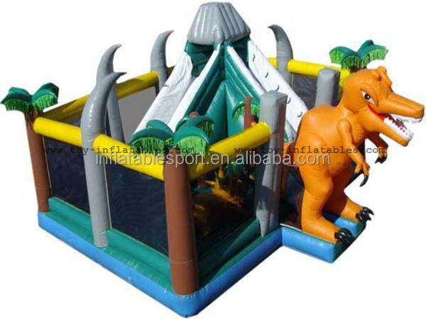 Hot sale inflatable dinosaur bounce house/inflatable dinosaur jumpers