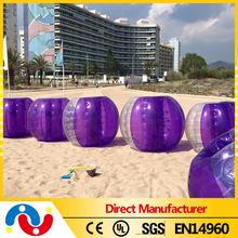 Big discount popular colorful soccer bubble ball belly bumperball for sale
