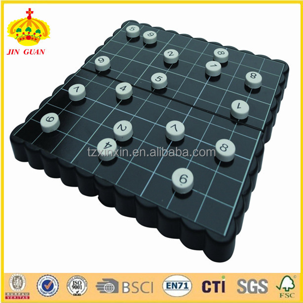 game play plastic board game sudoku