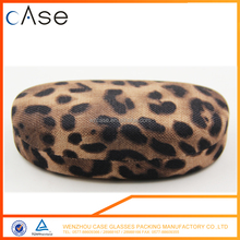 Popular Leopard Print Metal case for Sunglasses