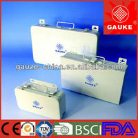 high quality steel emergency first aid kit box for auto,steel premiers secours kit