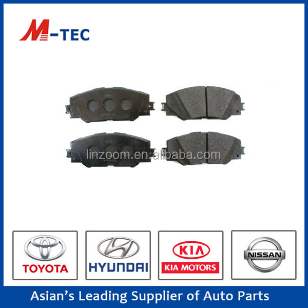 Good price car hi-q brake pad 04465-42180 for Rav high performance