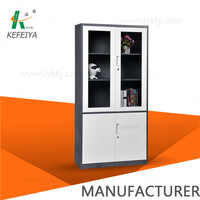 Modern design steel swing door storage cabinet furniture