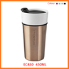 double wall thermal insulated coffee travel private label bulk ceramic tumblers/blank porcelain mug