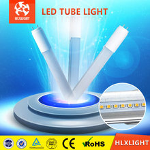 T8 Tube No Flickering Led Tube 8 China:0.6M/0.9M/1.2M/1.5M,7W/9W/12W/15W/18W/21W,Round&Ellipse Shape,Clear&Milky Cover