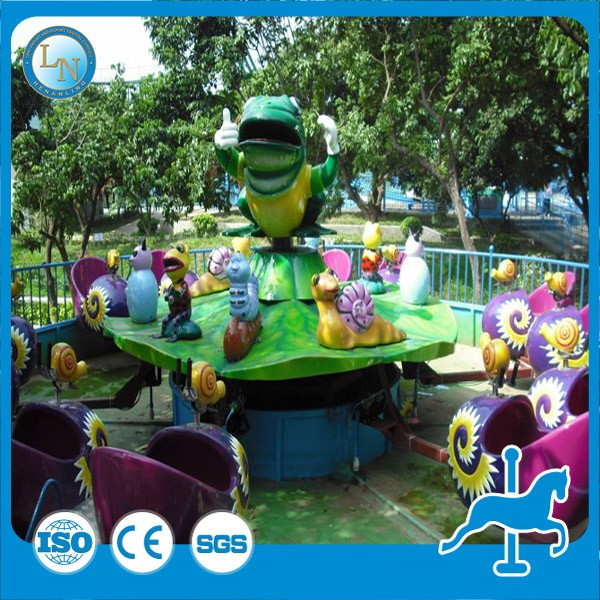 China water fun products selling! Theme park amusement snail water equipment rides for kids