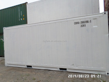 Carrier unit repainted used reefer container