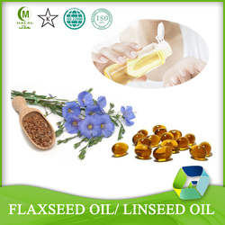 Pure Skin Whitening Cream Flax Seed Oil Extract Supplement Softgel Capsules
